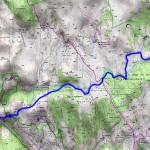 Sur les Pas des Huguenots carte 8 Pont de Montvert - Mas de la Barque