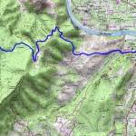 Sur les pas des Huguenots carte 15 Grospierres - Vallon Pont d'Arc