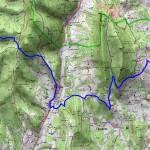 Sur les pas des Huguenots carte 26 Vaunaveys la Rochette - Beaufort sur Gervanne